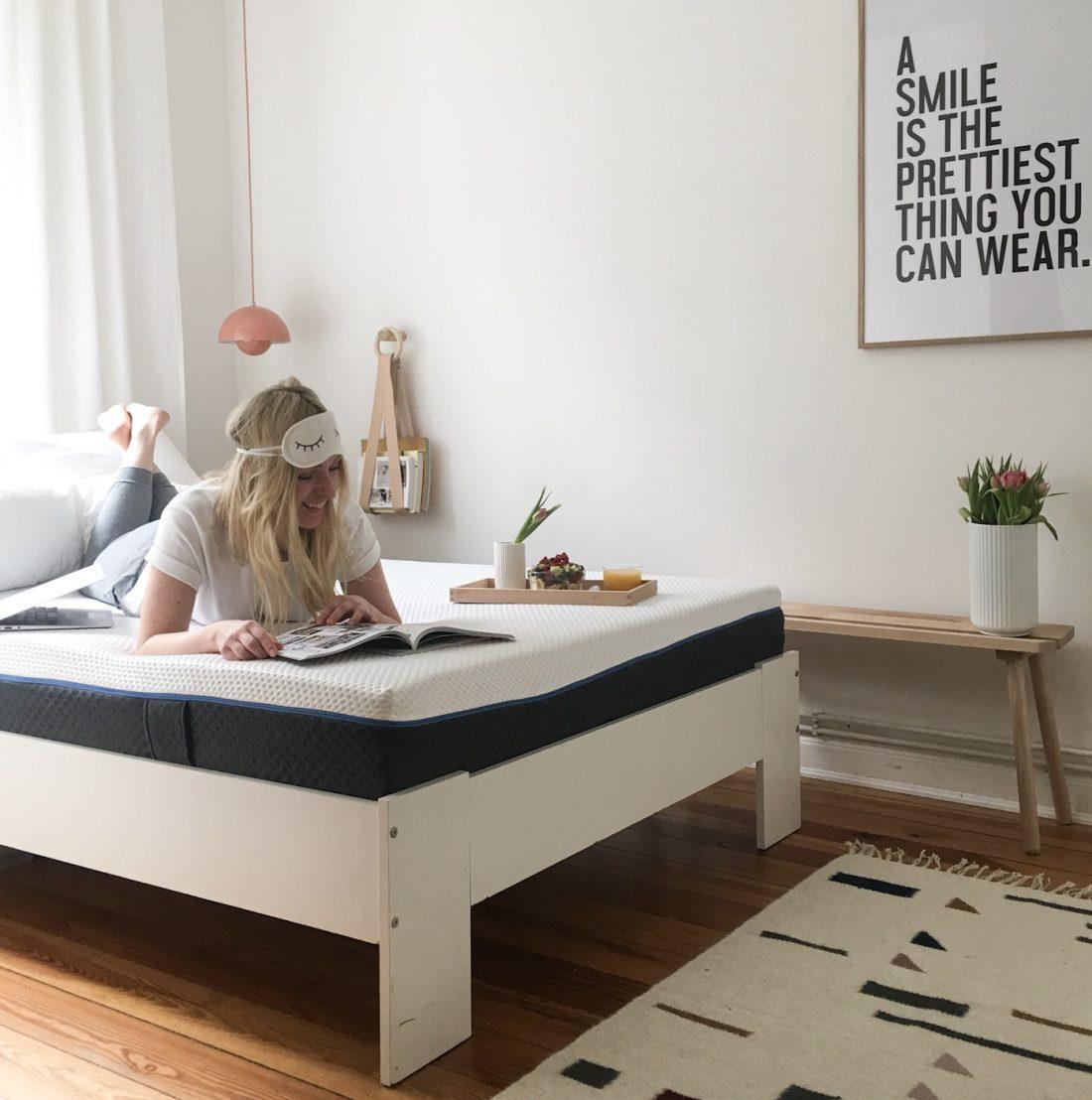 wohn.glück - interior design hamburg   Emma Matratze Test