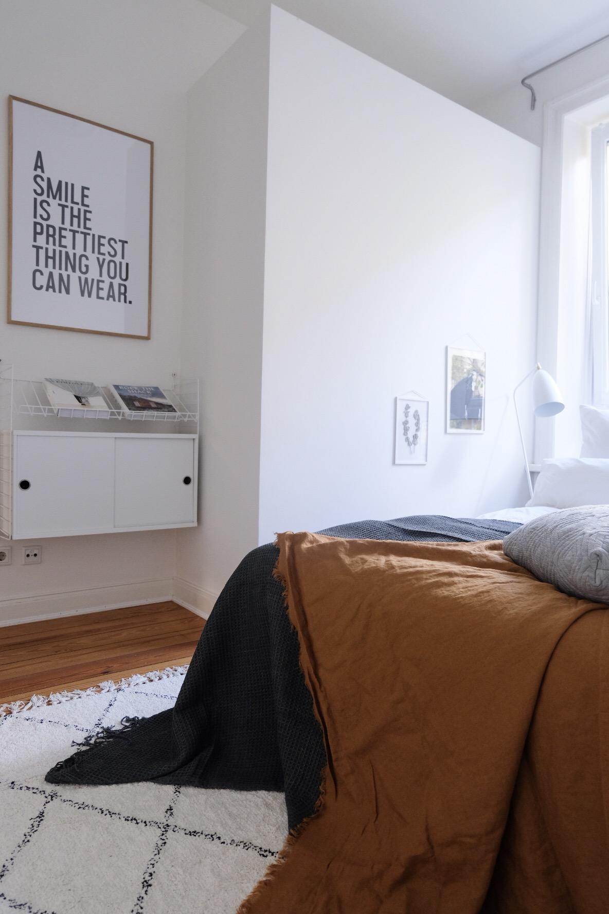 wohn.glück - interior design hamburg   Mein kleines Schlafzimmer ...