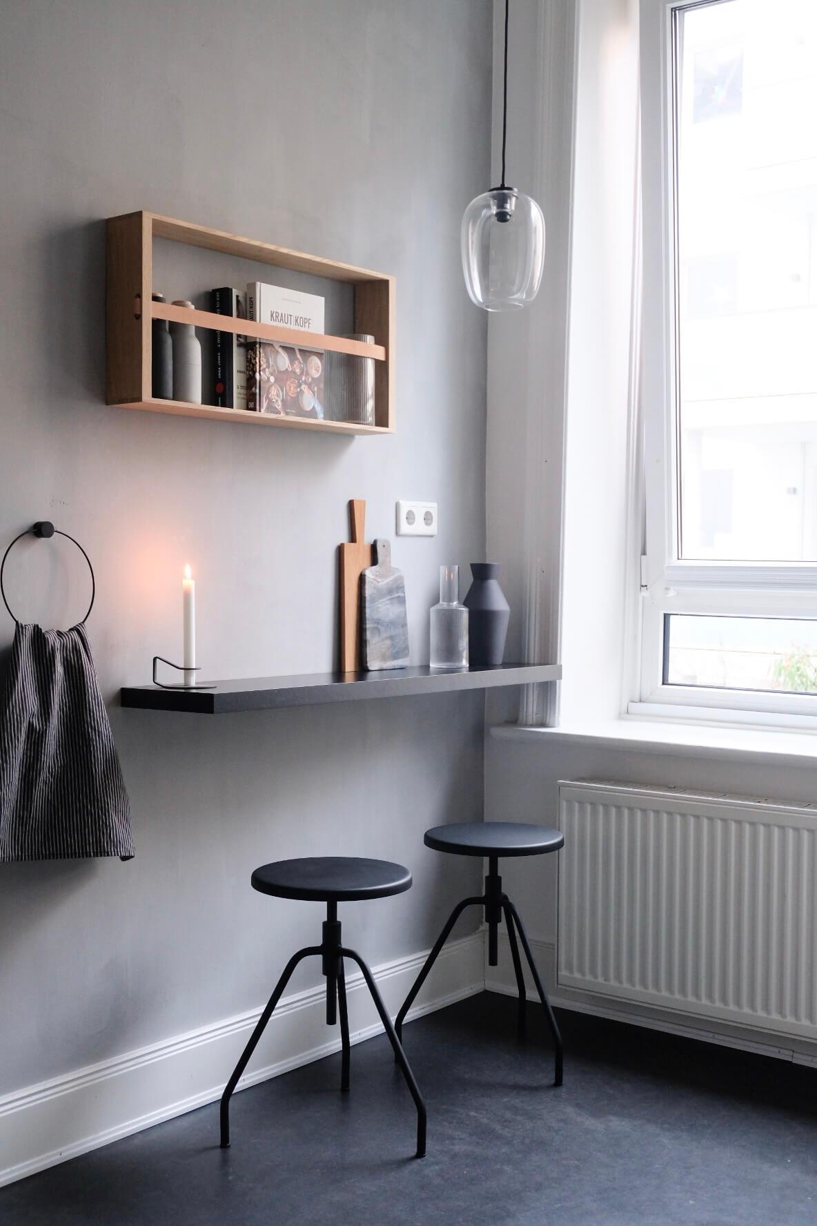 Mein Küchen Makeover mit Kalklitir!   wohn.glück - interior ...