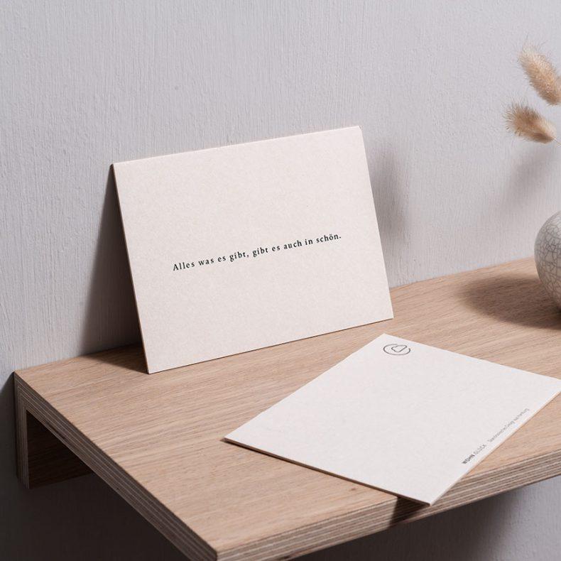 "Postkarte ""Alles was es gibt"""